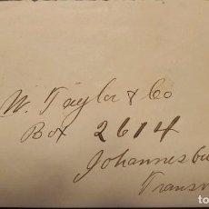 Sellos: O) 1902 TRANSVAAL, REY EDWARD VII - REVENUE, ACT 253 1P ROSA Y NEGRO, XF. Lote 236276465