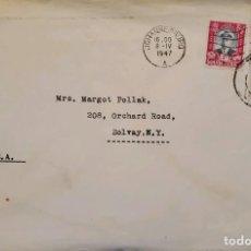 Sellos: O) 1947 SUDÁFRICA, GEORGE VI, EDIFICIO GUBERNAMENTAL PRETORIA SUID AFRIKA, GOBIERNO PRETORIA, PAR, A. Lote 238706085