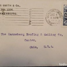 Sellos: O) 1910 SUDÁFRICA, GEORGE V, APERTURA DEL PARLAMENTO DE LA UNIÓN, H. JASPER SMITH, A EE. UU.. Lote 238709310