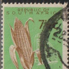 Sellos: SUDAFRICA 1966 SCOTT 294 SELLO º FLORA AGRICULTURA MAIZ (ZEA MAYS) MICHEL 321 YVERT 286C SUID AFRIKA. Lote 241426725
