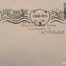 Sellos: O) 1940 SUDÁFRICA, GROOTE SCHUUR, ENVIAR UN BUEN TELEGRAMA, A EE. UU.. Lote 242017955