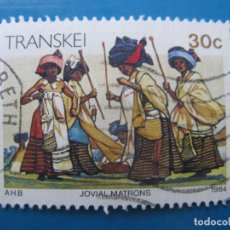 Timbres: -AFRICA DEL SUR, TRANSKEI, 1984, LA VIDA EN TRANSKEI, YVERT 155. Lote 244692830