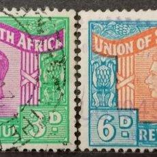 Sellos: UNION SUDAFRICA.OCUP. BRITANICA. *,MH ( 21-324). Lote 252812150