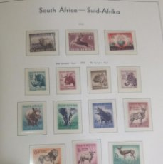 Sellos: O) 1954 SUDÁFRICA, ANIMALES SALVAJES DE ÁFRICA, XF. Lote 253367170