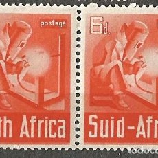 Sellos: SOUTH AFRICA / SUID AFRIKA - 1943 - 6D - 1 VALOR - 2 SELLOS NUEVOS. Lote 255395410