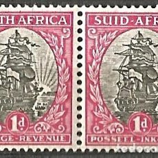 Sellos: SOUTH AFRICA/SUID AFRIKA - POSTAGE REVENUE - 2 SELLOS - NUEVOS. Lote 255396150