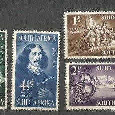 Sellos: SOUTH AFRICA - 1952 - 4 VALORES - - NUEVOS. Lote 255400300