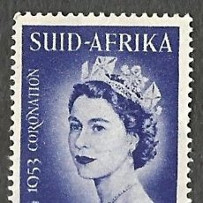 Sellos: SOUTH AFRICA - ELIZABETH II - 1953 - NUEVO. Lote 255401655