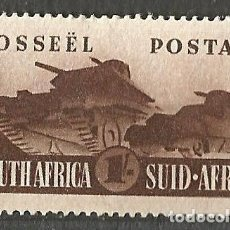 Sellos: SOUTH AFRICA - TANQUES - 1943 - NUEVO. Lote 255403105