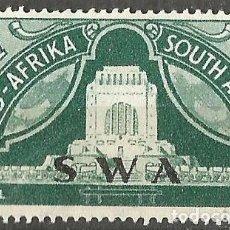 Sellos: SOUTH AFRICA - 1949 - SOBRECARGA - SWA - VOORTREKKER MONUMENT - NUEVO. Lote 255403960