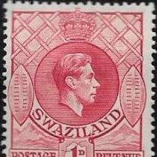 Sellos: SWAZILAND YVERT 28 NUEVO CON GOMA Y CHARNELA. Lote 256031020