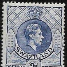 Sellos: SWAZILAND YVERT 31 NUEVO CON GOMA Y CHARNELA. Lote 256031415