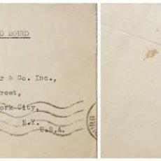Sellos: O) 1936 SUDÁFRICA, GNU, LUGPOS, CORREO AÉREO DESDE JOHANNESBURGO, CIRCULAR A EE. UU.. Lote 257330815