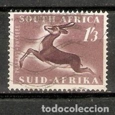 Timbres: SUDÁFRICA.1953. GACELA. FAUNA. Lote 260042015