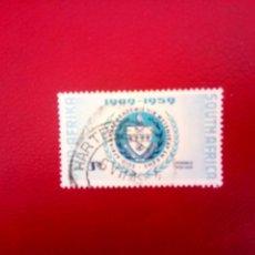 Sellos: SUDÁFRICA 1959, ACADEMIA DE CIENCIAS, YT 220. Lote 260463270