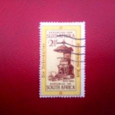 Sellos: SUDÁFRICA 1965, 300 AÑOS DE LA IGLESIA REFORMADA, YT 296. Lote 260464710