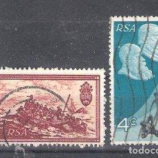 Sellos: REPÚBLICA SUDAFRICANA Nº 330/331º DÉCIMO ANIVERSARIO DE LA REPÚBLICA. SERIE COMPLETA. Lote 266350333