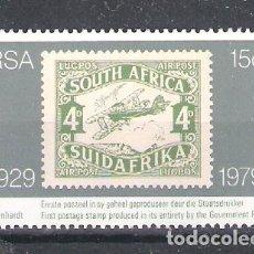 Francobolli: REPÚBLICA SUDAFRICANA Nº 458** CINCUENTENARIO DEL PRIMER SELLO DE LA REPÚBLICA. SERIE COMPLETA. Lote 266362038