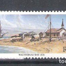 Sellos: REPÚBLICA SUDAFRICANA Nº 442** CENTENARIO DE LA ANEXIÓN DE WALVIS BAY. SERIE COMPLETA. Lote 268921049