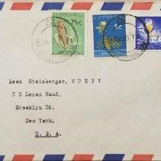 Sellos: O) 1964 SUDÁFRICA, TORO AFRIKANER, TEÓLOGO FRANCÉS JOHN CALVIN Y LÍDER DE LA REFORMA, MAÍZ, ÁRBOL DE. Lote 275321413