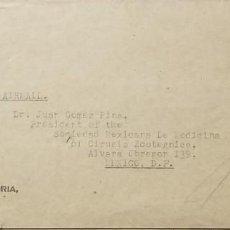 Sellos: O) 1928 SUDÁFRICA, TREKKING, 2SH6P, POSSEEL, PER LUGPOS, PRETORIA, A MÉXICO POR CORREO AÉREO. Lote 275334803