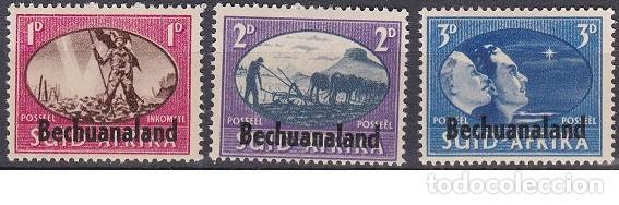 LOTE SELLOS NUEVOS ANTIGUOS DE SUDAFRICA - BECHUANALAND - (ENVIO COMBINADO COMPRA MAS) (Sellos - Extranjero - África - Sudáfrica)