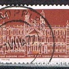 Sellos: SUDAFRICA Nº Nº 514, CENTENARIO DEL TRIBUNAL SUPREMO DE TRANSVAAL, USADO. Lote 288398018