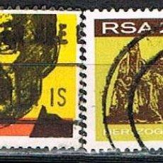 Sellos: SUDAFRICA Nº 374/5 INAUGURACION DEL MONUMENTO AL GENERAL HERTZOG, USADO SERIE COMPLETA. Lote 288398578