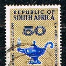 Sellos: SUDAFRICA Nº 340, 50 ANIVERSARIO DE LA ASOCIACIÓN SUDAFRICANA DE ENFERMERÍA, USADO. Lote 288399158