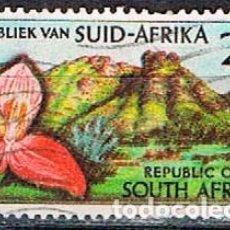 Sellos: SUDAFRICA Nº 315, 50 ANIVERSARIO DEL JARDÍN BOTÁNICO KIRSTENBOSCH, CIUDAD DEL CABO, USADO. Lote 288399258