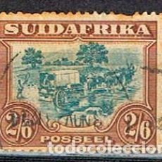 Sellos: SUDAFRICA Nº 64 (AÑO 1930), TRANSPORTE DE MERCANCIAS, USADO. Lote 288404718