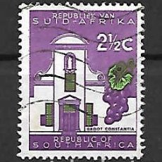 Sellos: VINOS DE AFRICA DEL SUR. SELLO AÑO 1961. Lote 288719613
