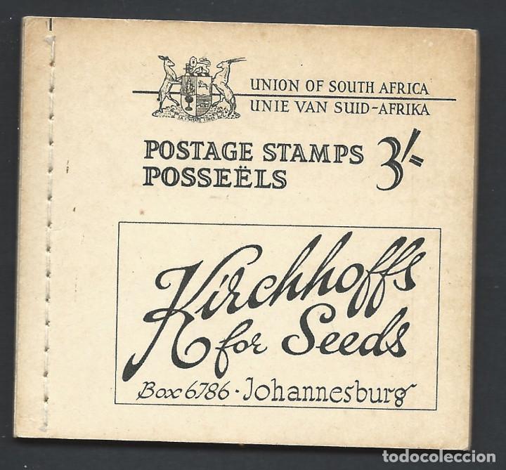AFRIQUE DU SUD CARNET DE 3/- COMPLET NEUF ** (MNH) 1948 (Sellos - Extranjero - África - Sudáfrica)