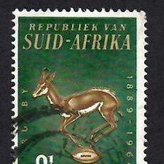 Sellos: SUDÁFRICA (1964). 75 ANIV. DE LA FEDERACIÓN NACIONAL DE RUGBY. YVERT Nº 278. USADO.. Lote 293907353