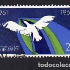 Selos: SUDÁFRICA (1966). 5º ANIVERSARIO DE LA REPÚBLICA. YVERT Nº 303. USADO.. Lote 293912223