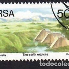 Selos: SUDÁFRICA (1989). LUCHA CONTRA LA DESERTIFICACIÓN. YVERT Nº 690. USADO.. Lote 293923918