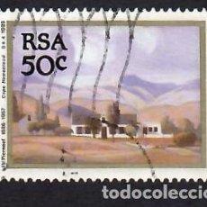 Selos: SUDÁFRICA (1989). PINTURA DE JACOB HENDRIK PIERNEEF. YVERT Nº 699. USADO.. Lote 293924973