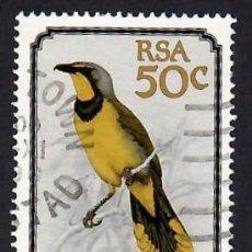 Selos: SUDÁFRICA (1990). PÁJAROS: BUBÚ SILBÓN. YVERT Nº 720. USADO.. Lote 293925583