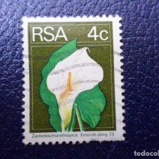 Sellos: AFRICA DEL SUR, 1974, FLORA, YVERT 362. Lote 295507188