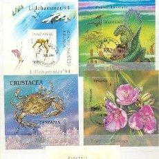 Briefmarken - Tanzania & 5 Bloques (1) - 21484102