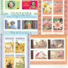 Briefmarken - Tanzania & 5 Bloques ** (1) - 24462928