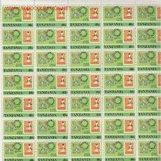 Sellos: PRECIOSO PLIEGO DE 50 SELLOS DE TANZANIA TEMATICO NUEVO. Lote 3652865