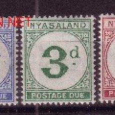 Sellos: NYASALAND TASA 1/5*** - AÑO 1950 - CIFRAS. Lote 2693830