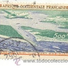 Sellos: 2AFROFAE-16. SELLO AEREO. AFRICA OCCIDENTAL FRANCESA. PORT D'AVIDJAN. Lote 10122311