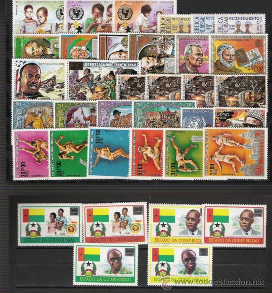 Sellos: GUINEA BISSAU PEQUEÑA GRAN COLECCION TODA EN NUEVO - Foto 2 - 26832740