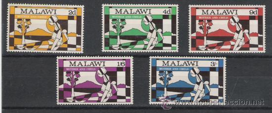 MALAWI SERIE NUEVA 138/142 (Sellos - Extranjero - África - Otros paises)