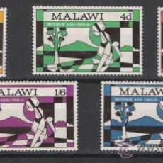 Sellos: MALAWI SERIE NUEVA 138/142. Lote 17385705