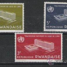 Sellos: RWANDA SERIE NUEVA . Lote 17919084