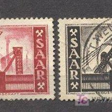Sellos: SAAR,1952-54, YVERT TELLIER 313 Y 337, USADOS. Lote 18523131