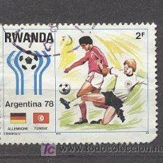 Sellos: RWANDA, MUNDIAL DE FUTBOL ARGENTINA 78. Lote 18523395